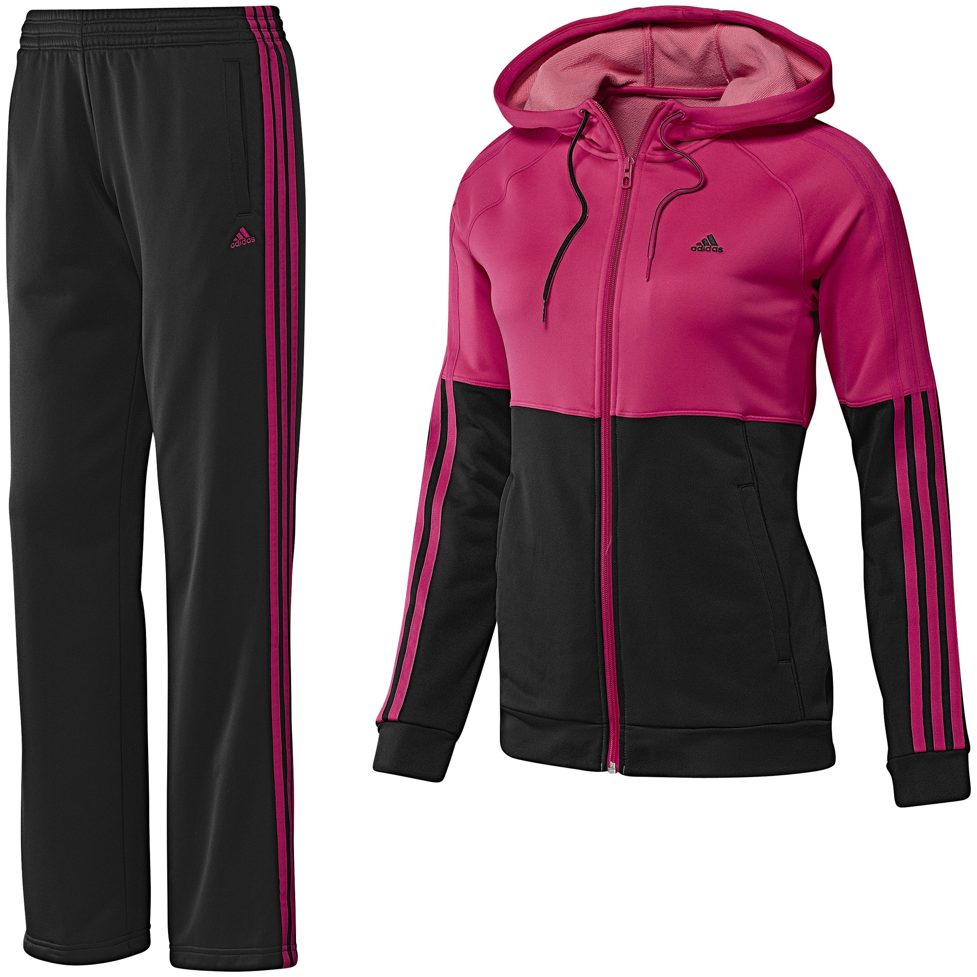adidas damen trainingsanzug young knit suit ebay. Black Bedroom Furniture Sets. Home Design Ideas