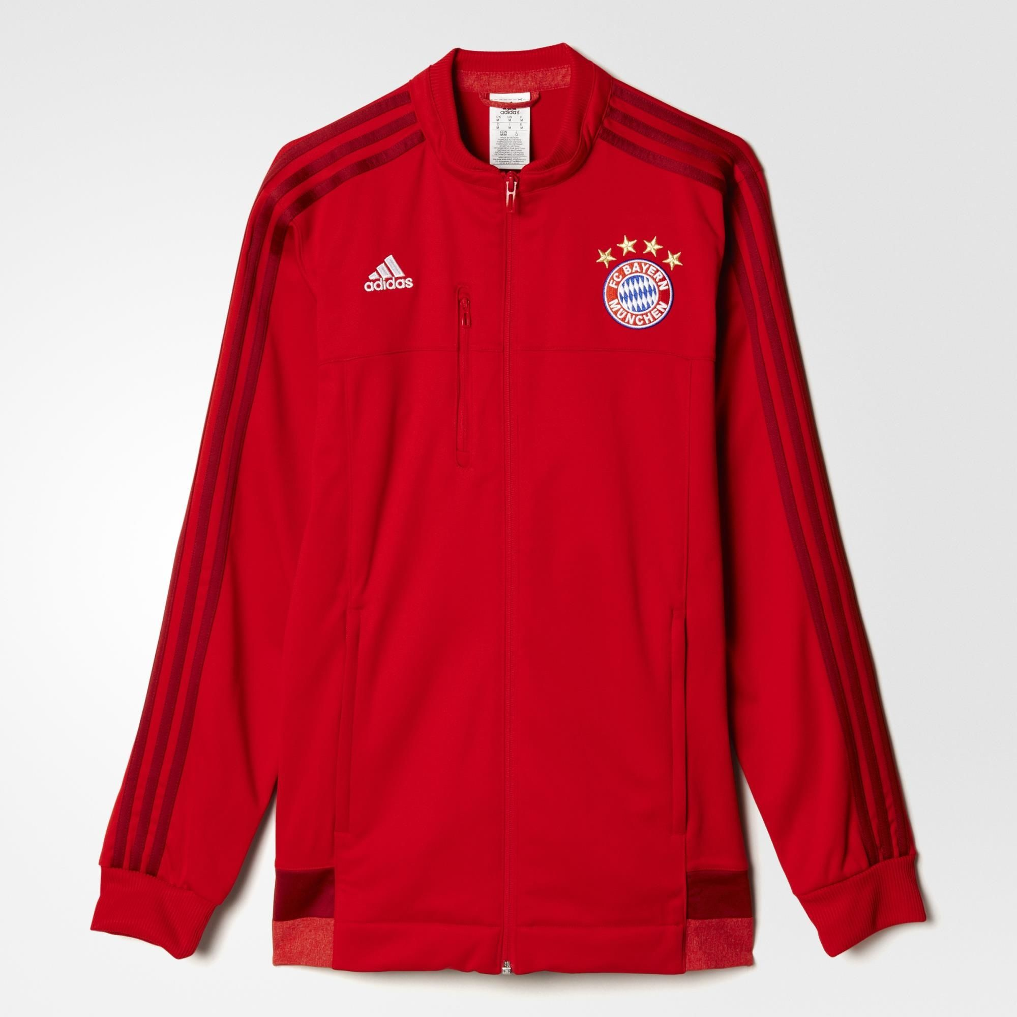 adidas herren jacke bayern m nchen anthem ebay. Black Bedroom Furniture Sets. Home Design Ideas