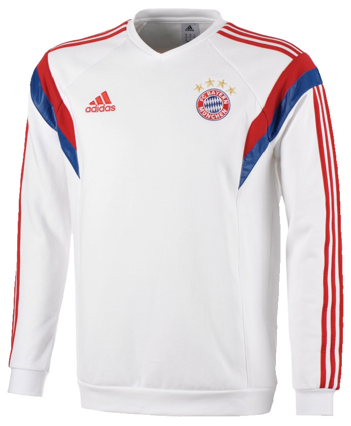 adidas herren sweat top fc bayern ebay. Black Bedroom Furniture Sets. Home Design Ideas