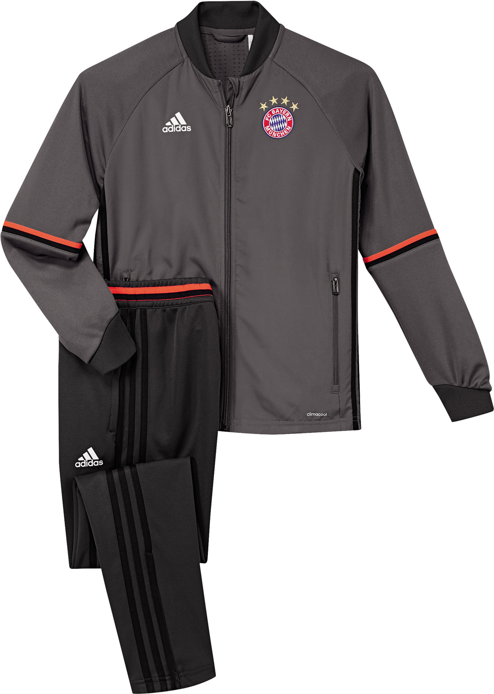 adidas kinder trainingsanzug fc bayern ebay. Black Bedroom Furniture Sets. Home Design Ideas