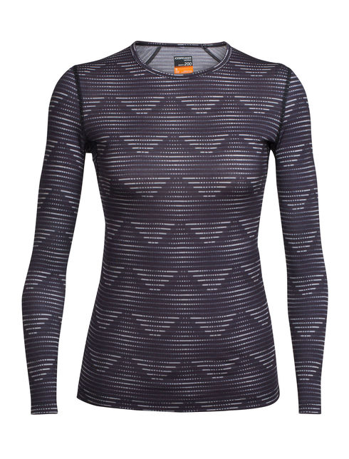 Damen Oasis Long Sleeve Crewe Diamond Line