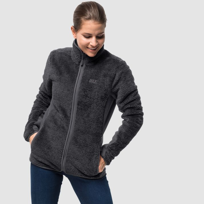 Damen Fleecejacke PINE LEAF JACKET