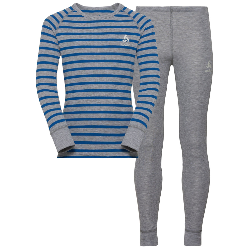 Active Originals Warm KIDS Set Grey Melange