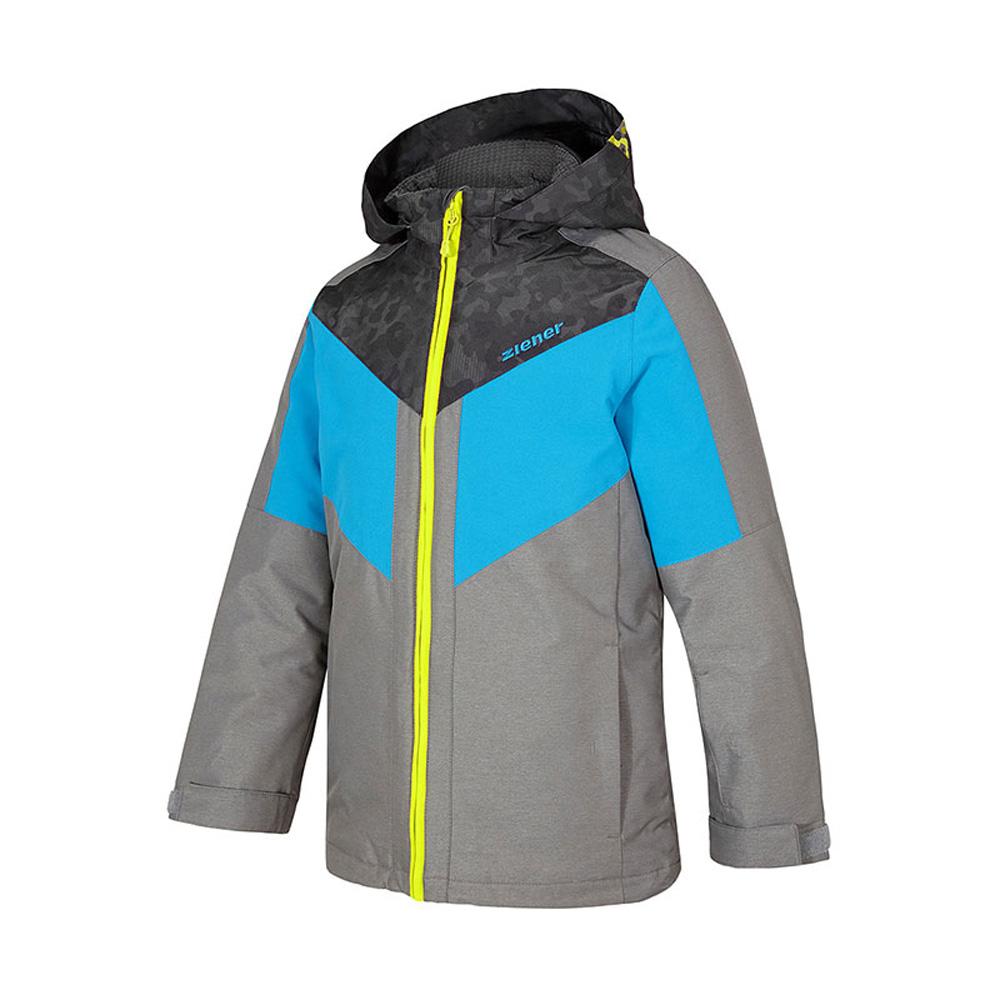 ARKO jun (jacket ski) Skijacke Kinder Winterjacke Grau