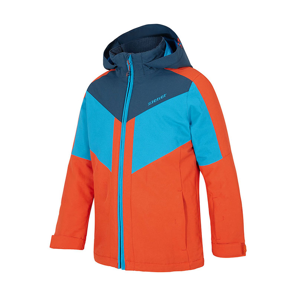 Arko Junior Skijacke Winterjacke Kinder Jungen Orange