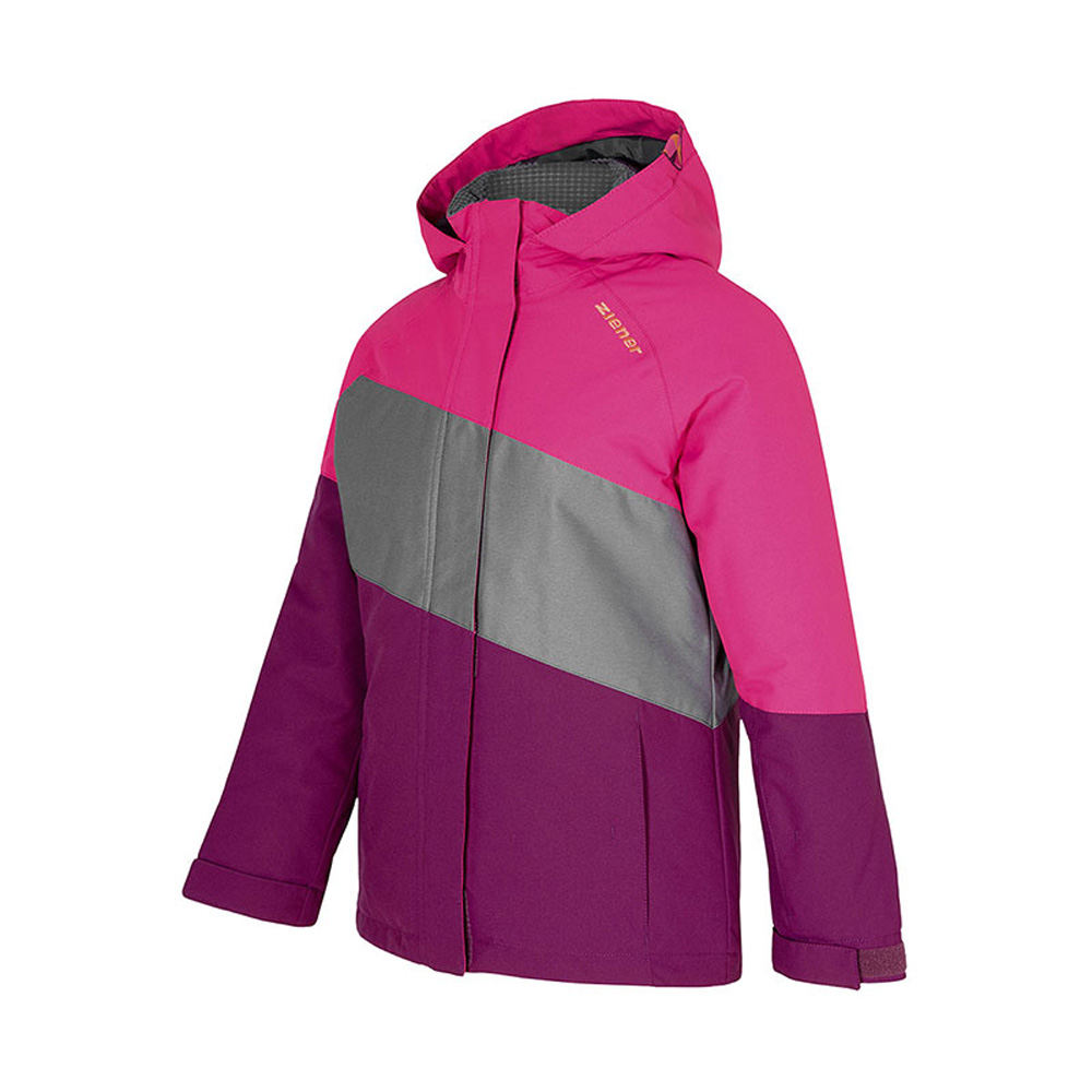 Abbi Junior Skijacke Winterjacke Pink