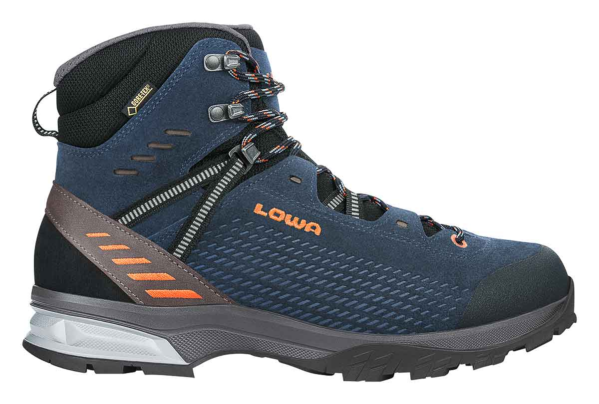 Wanderschuh ARCO GTX MID, NAVY/ORANGE, 7.5