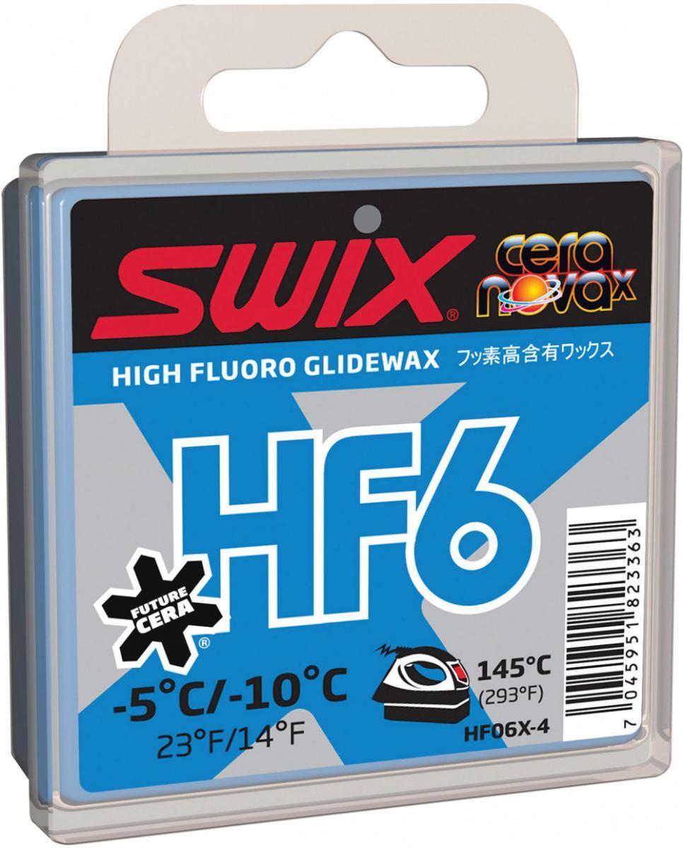 HF6X Skiwachs Blau Rennwachs Alpinwachs