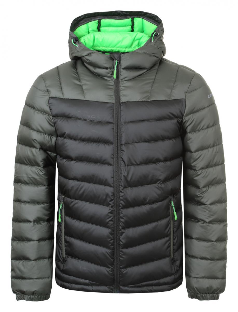 Skijacke Herren LEAL Dunkel Grün Winterjacke