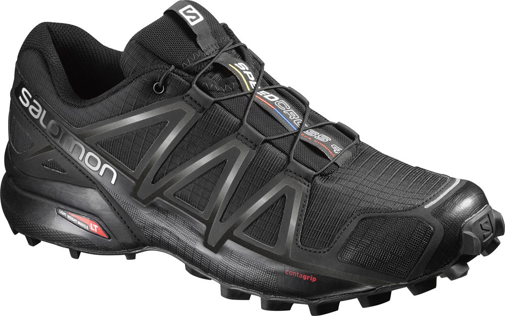 Herren Outdoor Schuh SPEEDCROSS 4 BK/BK/BLACK