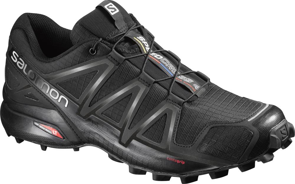 Herren Outdoor Schuh SPEEDCROSS 4 BK/BK/BLACK, BLACK/BLACK/BLACK METALLIC, 12