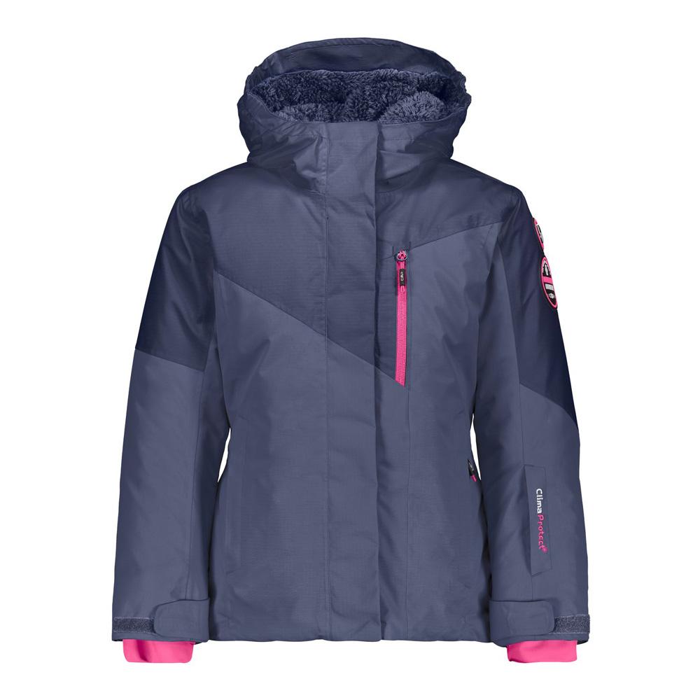 Skijacke Mädchen Jacke Fix Hood Winterjacke