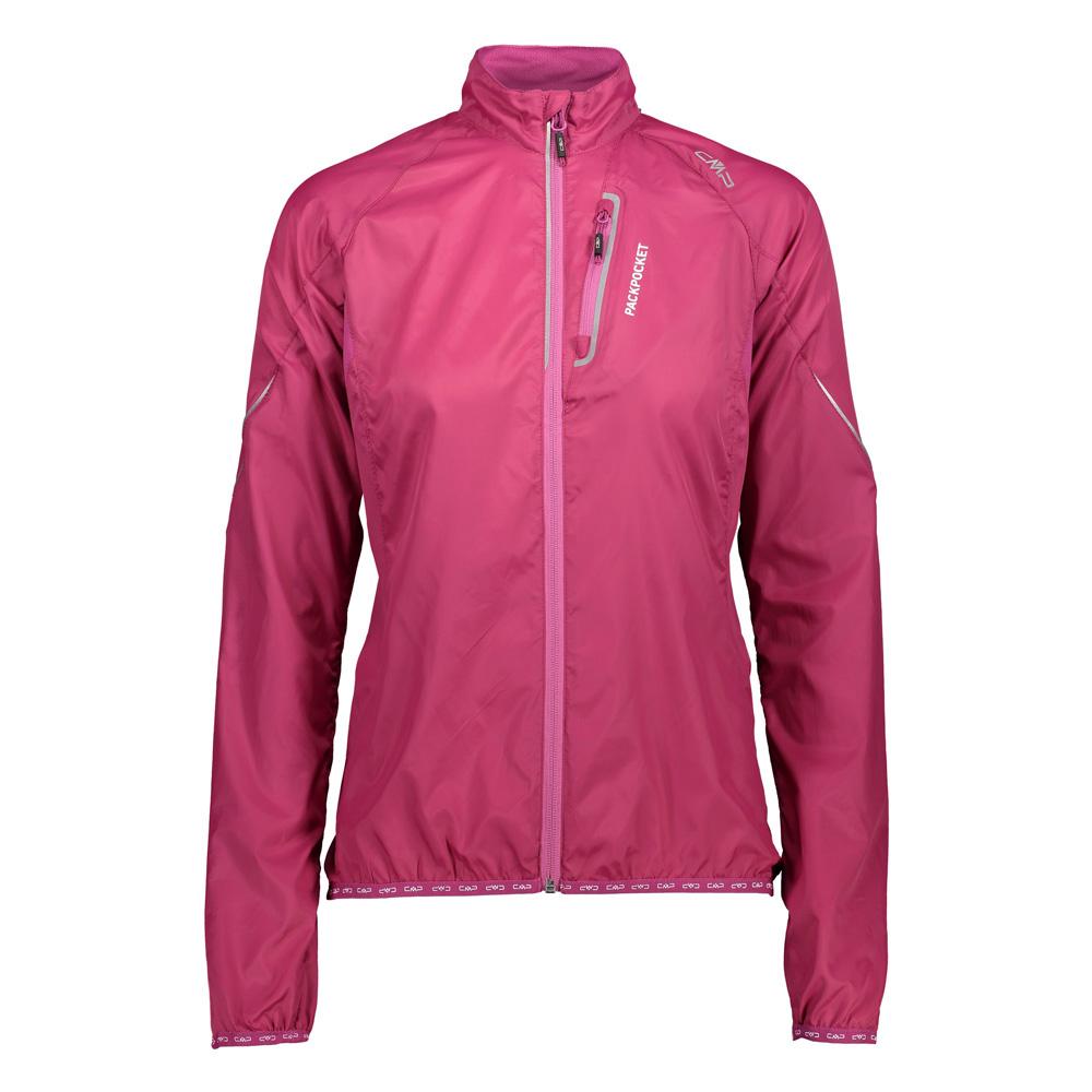 Laufjacke Damen Rot Pink Sportjacke Winddicht