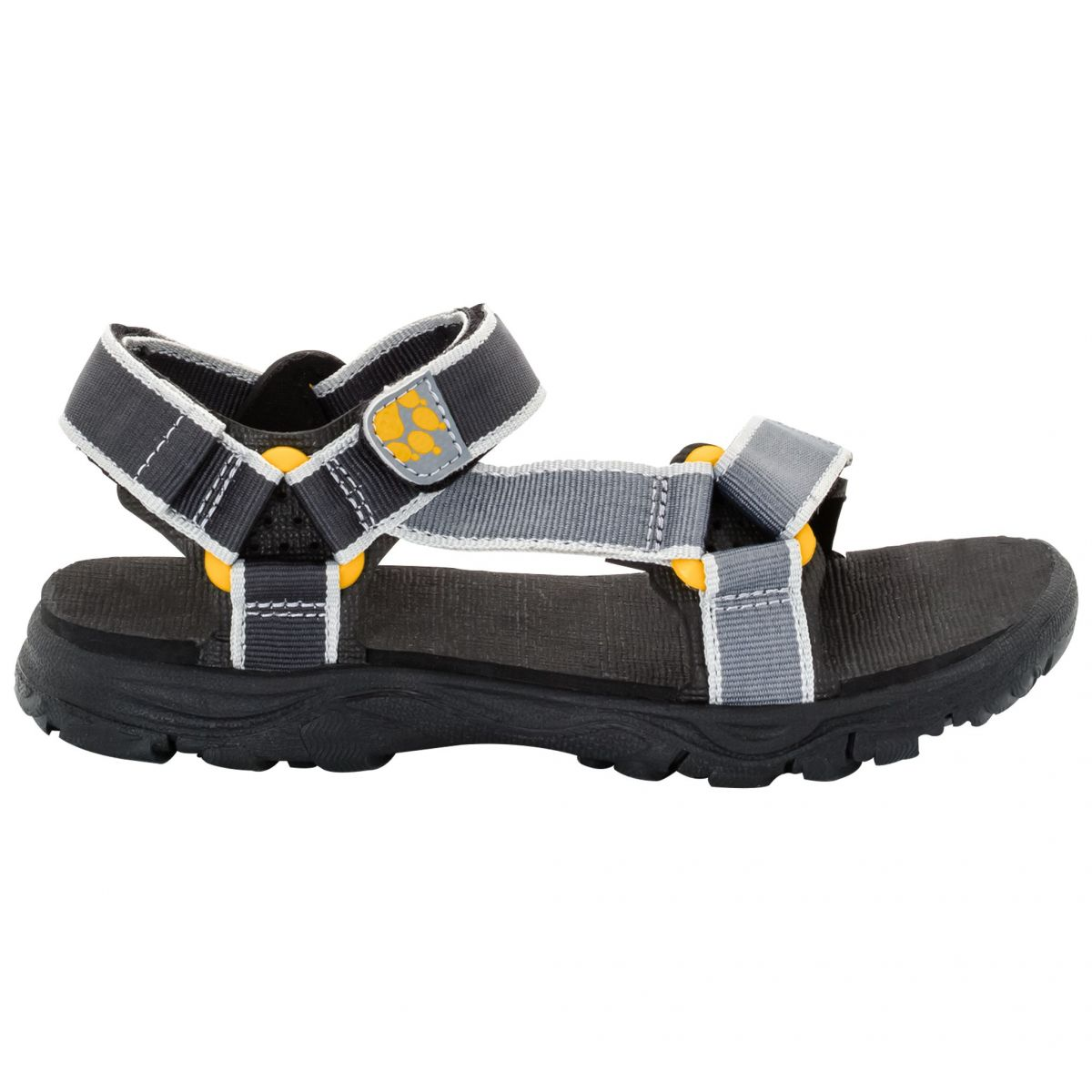 jack wolfskin kinder sandalen seven seas 2 sandal burly yellow xt sport schuster. Black Bedroom Furniture Sets. Home Design Ideas
