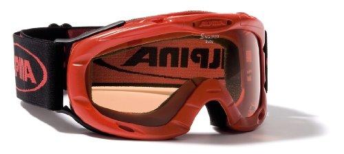 Kinder Skibrille RUBY S, red, -