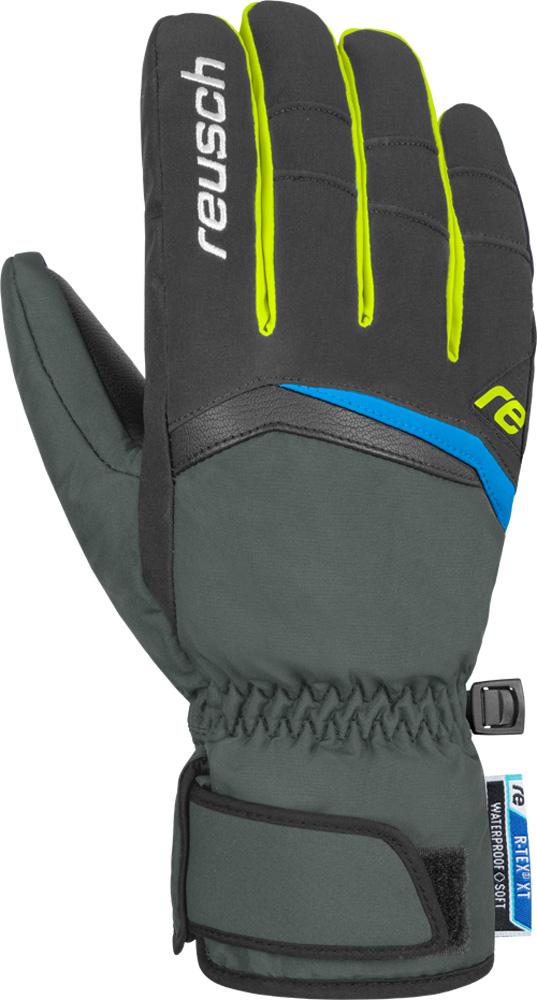 Handschuh BALIN R-Tex, dark granite / safety yellow, 8