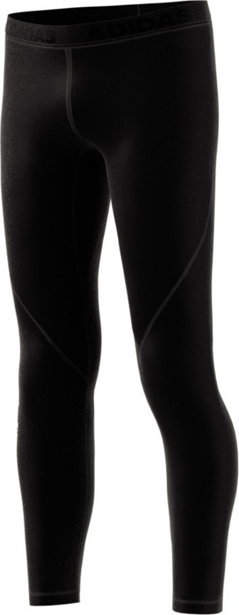 Youth Boys Training ALPHASKIN Long Tight Schwarz