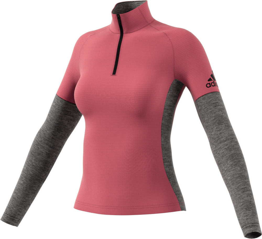 Damen Langlauf Xperior Active Top Women Winter Rot