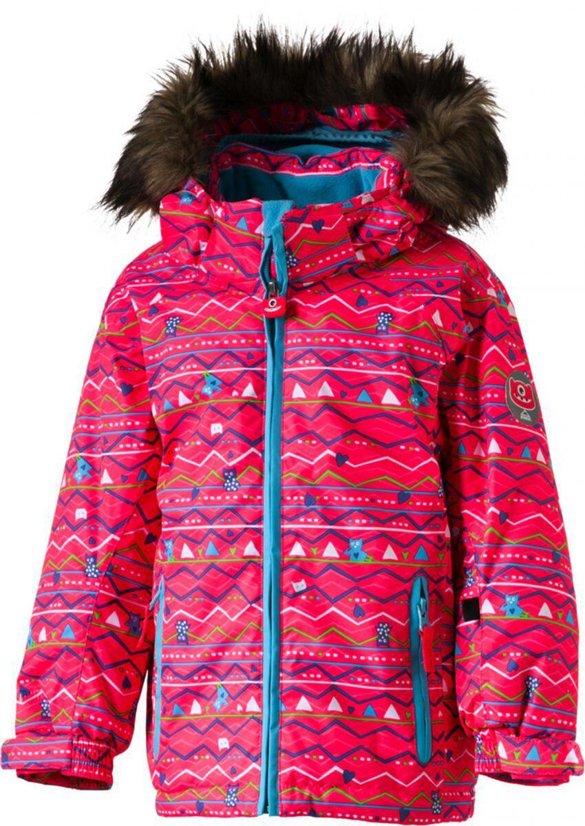Kinder Jacke KK-Jacke Carla Pink Türkis Winterjacke