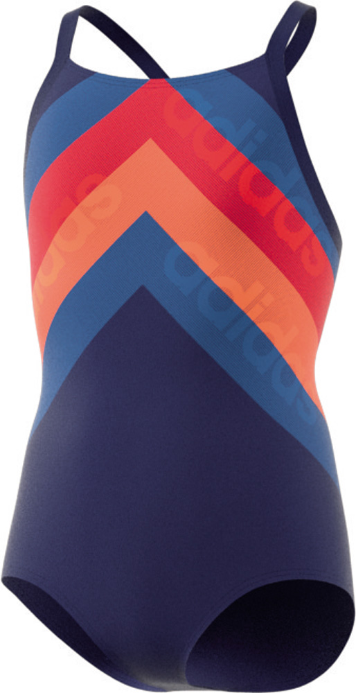 fitness training suit lineage takedown Badeanzug Damen Blau
