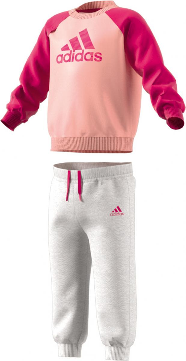 Kinder Jogginganzug Fleece Coral Grau Babys