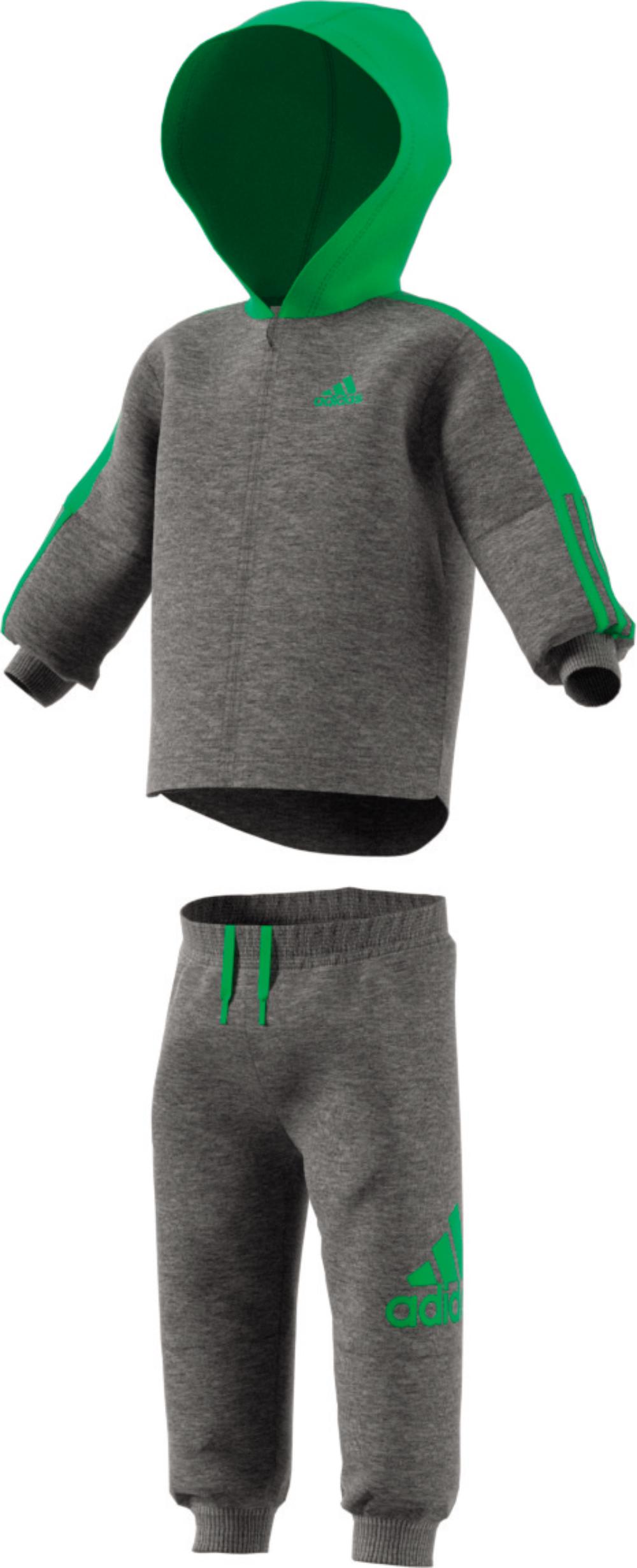 Jogginganzug Trainingsanzug Kinder Grau