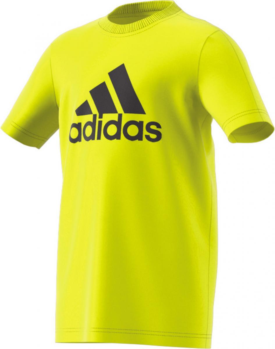Shirt Logo Kinder Jungs Gelb