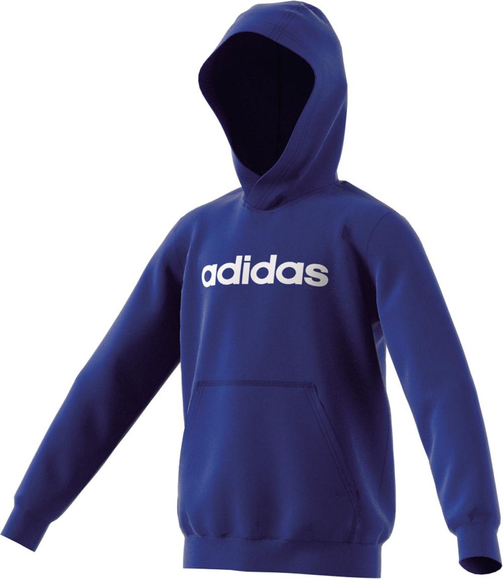 Linear Hoodie Unisex Blau Logo