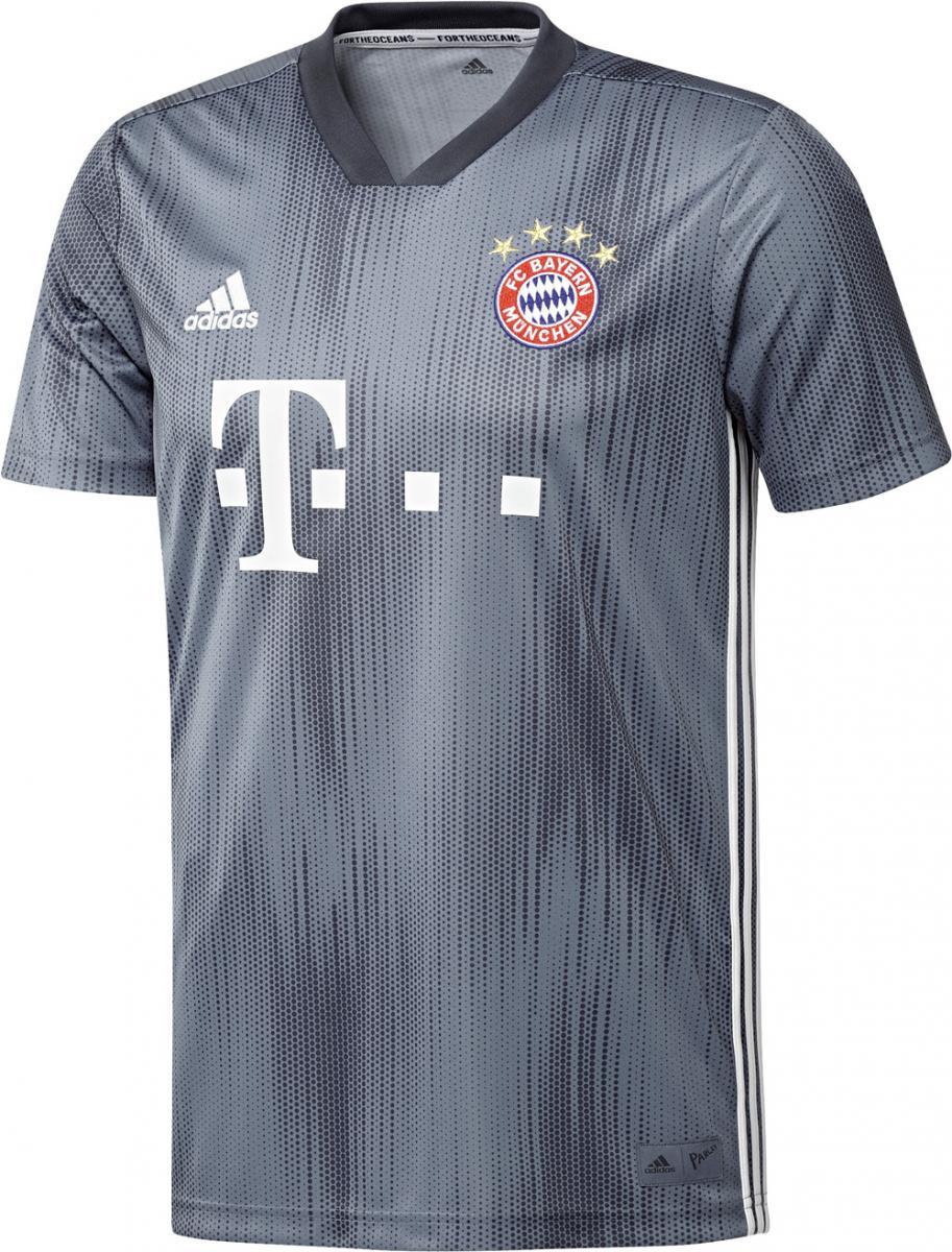 FC Bayern München Trikot Fan Grau Fußball Herren