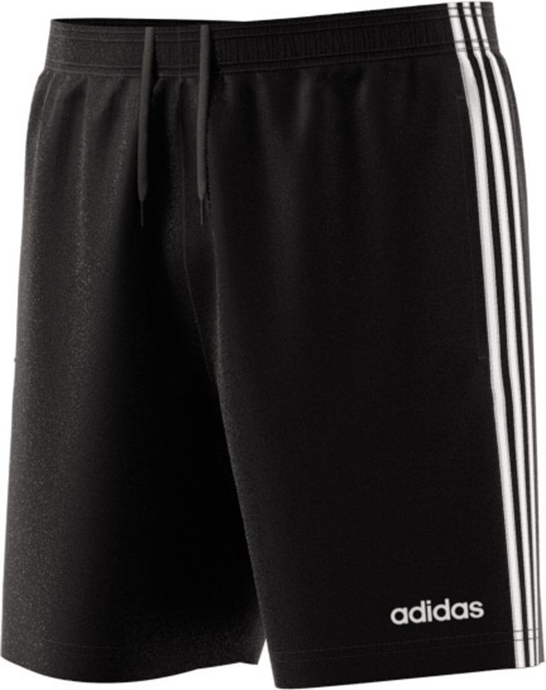 Essentials 3 Stripes 7in Chelsea Shorts, BLACK/WHITE, M