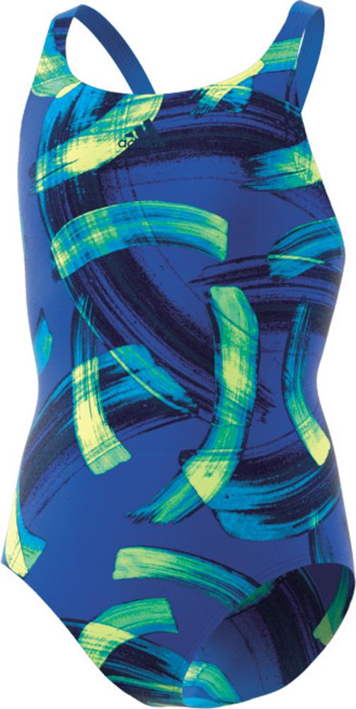 Parley Commit Swimsuit Girls Blau Kinder Badeanzug
