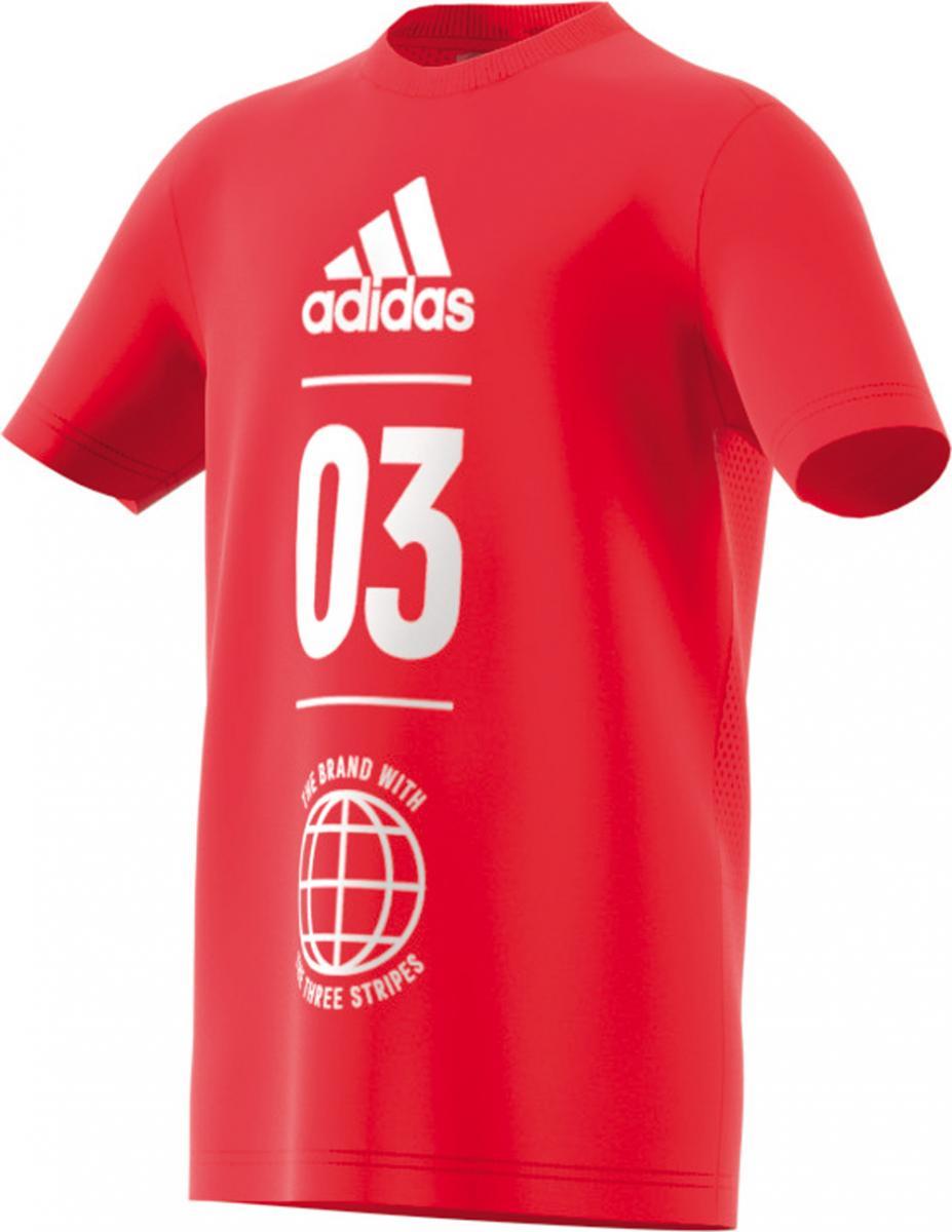 Sport ID T-Shirt Kinder Rot