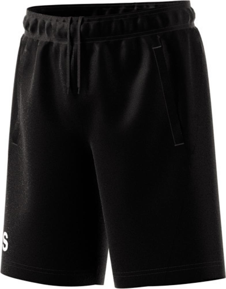 Equip Knit Short Fitness Schwarz, BLACK/WHITE, 152