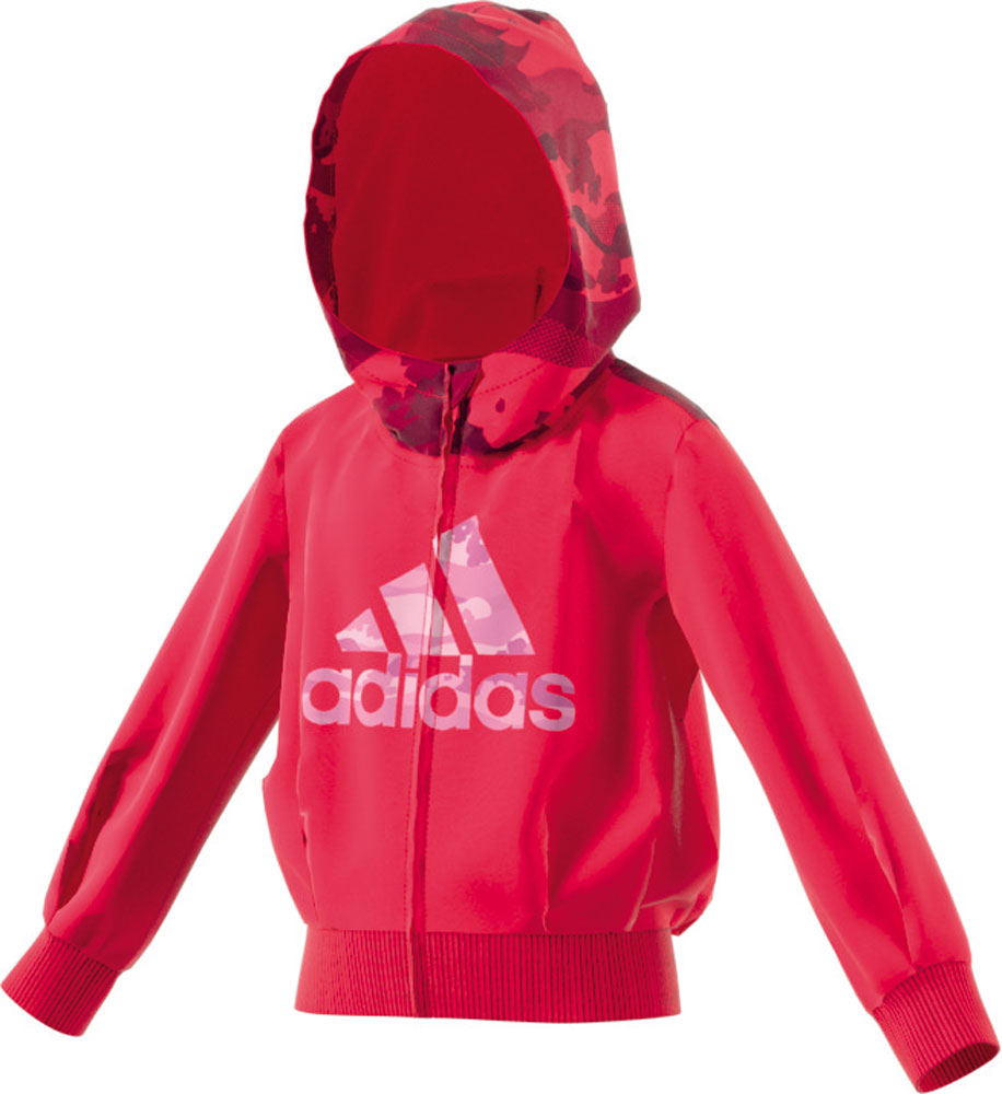 Little Girl French Terry Hoody Frauen Pink