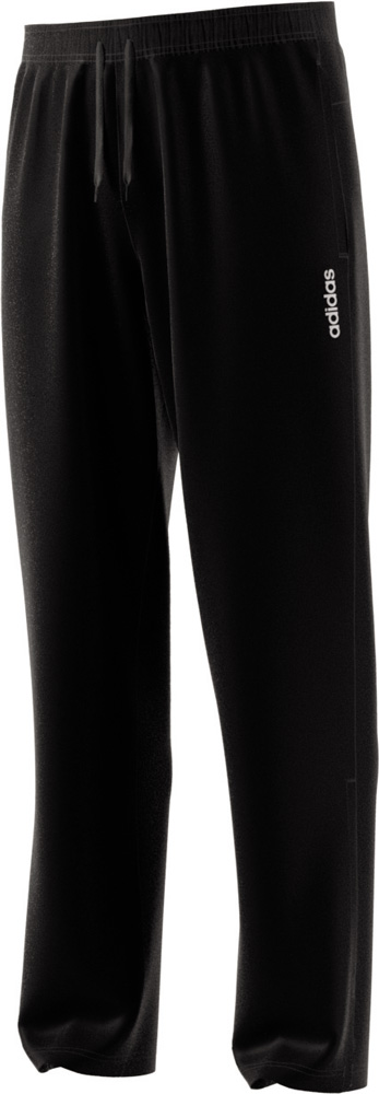 Essentials Plain Regular Open Hem Stanford Sporthose, BLACK, L/L