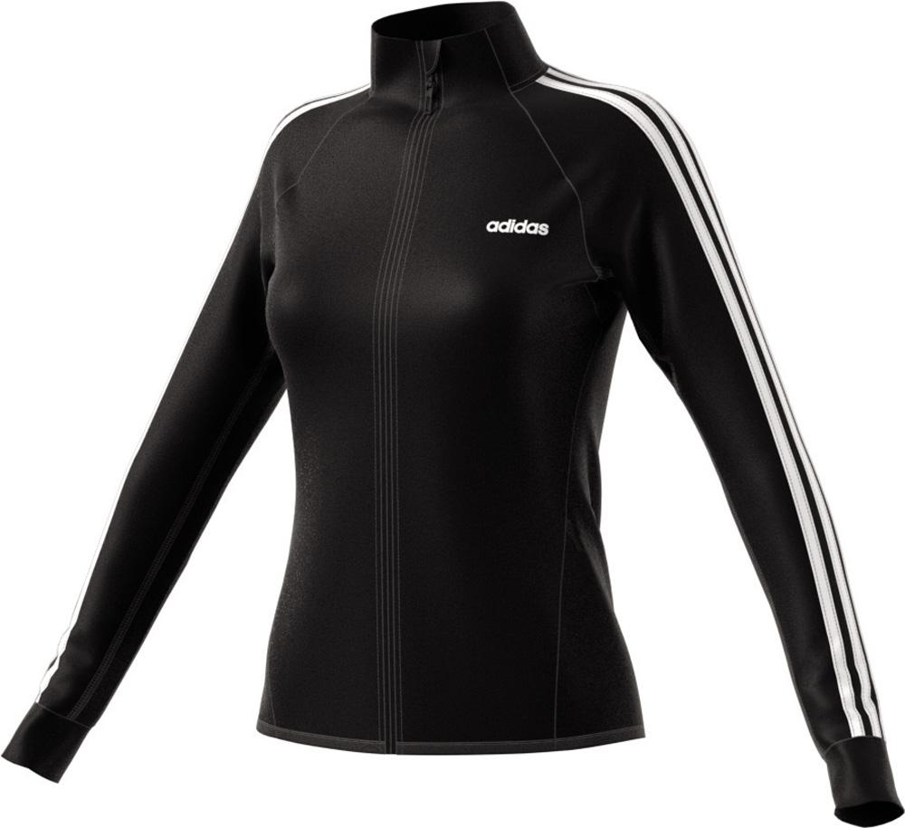 D2M Tracktop Trainingsjacke Damen Schwarz
