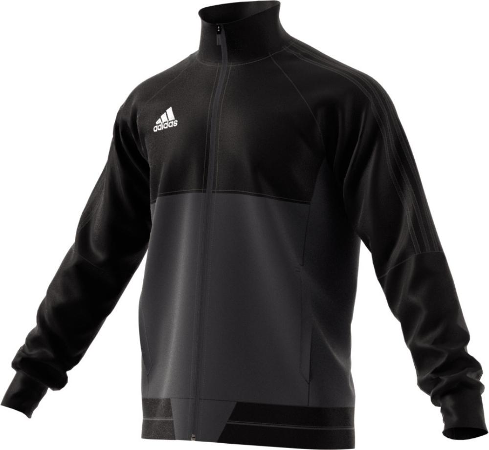 adidas herren jacke tiro17 training jacket black dkgrey. Black Bedroom Furniture Sets. Home Design Ideas