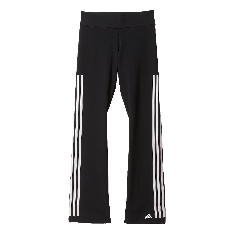 Damen Hose Workout 3S , BLACK/WHITE, XS