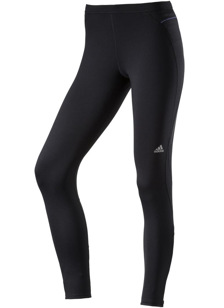 Damen Laufhose Sequencials Lightweight Brushed Tight W, BLACK, M