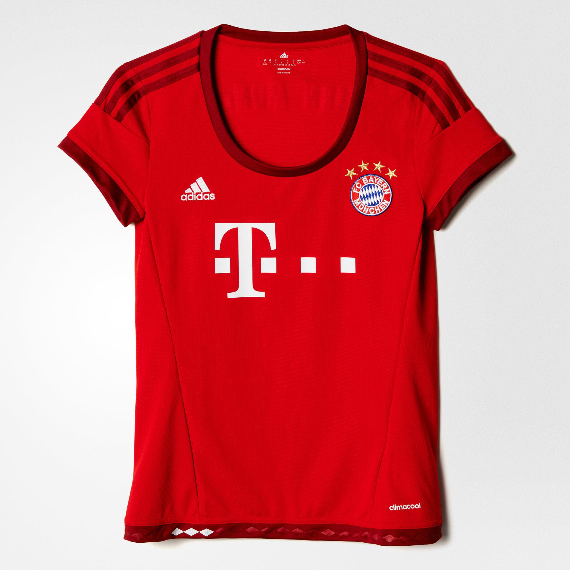 Damen Heimtrikot FC Bayern München Replica Spieler