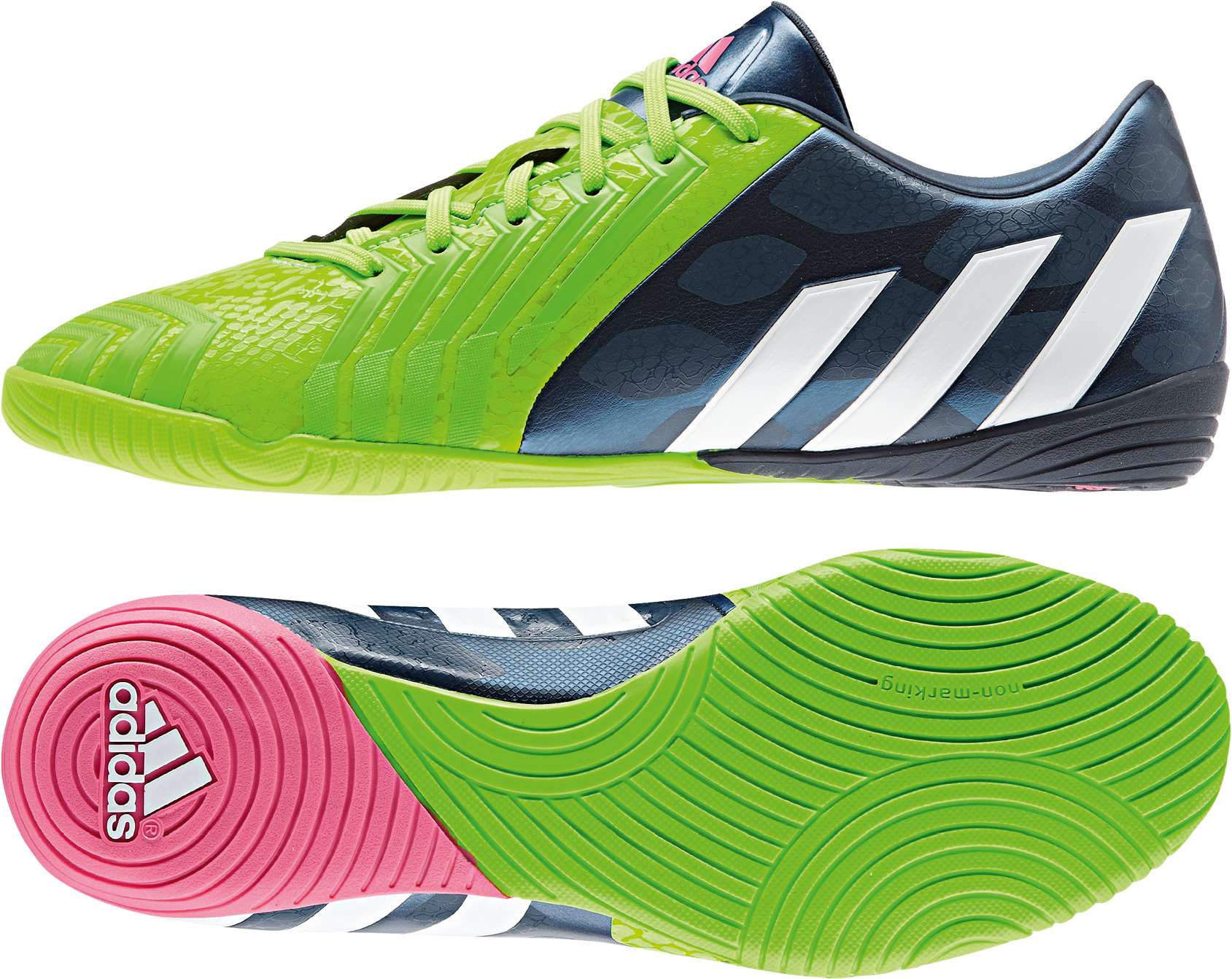 Fußball Schuhe P Absolado Instinct IN, RICBLU/FTWWHT/SGREEN, 6