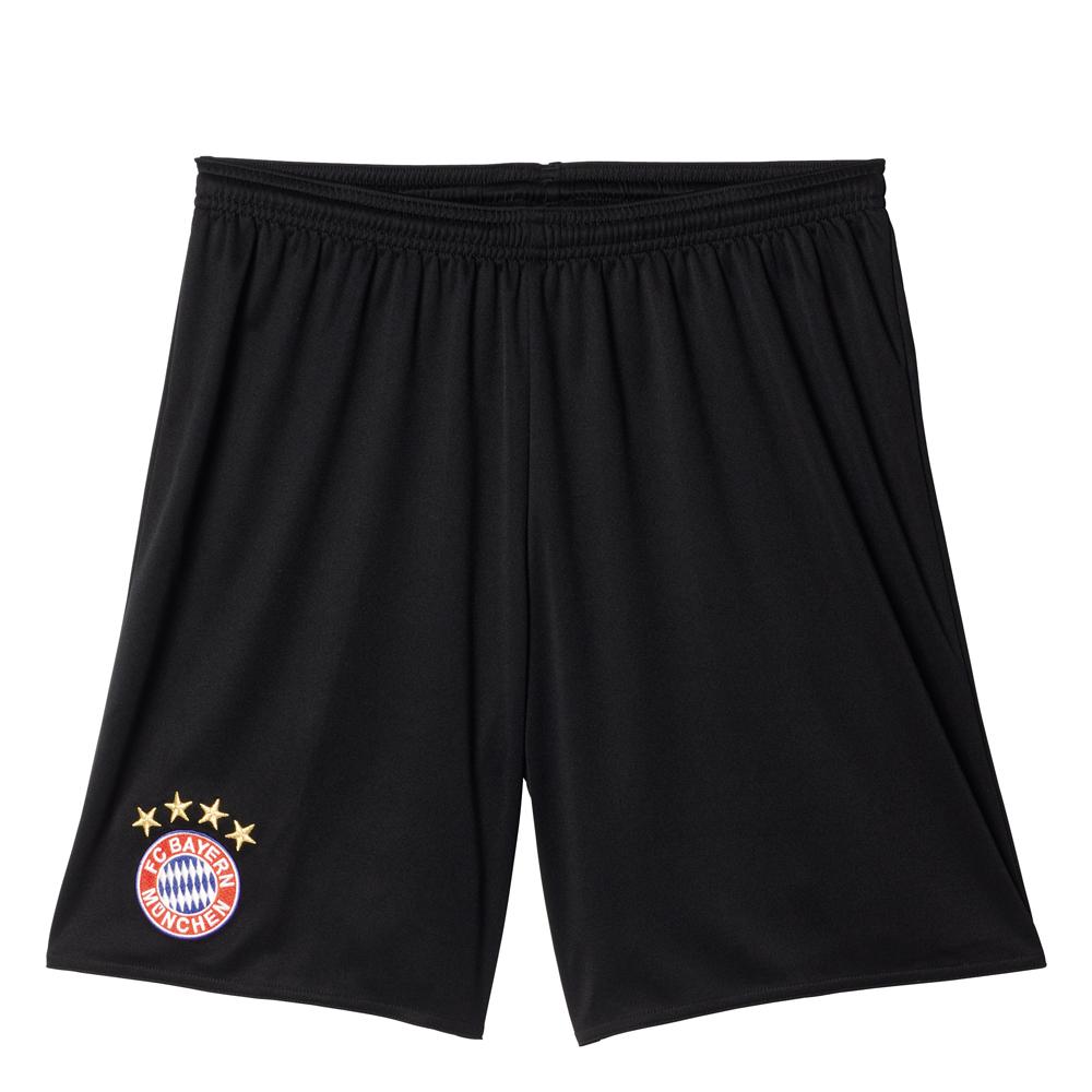 Herren Auswärts Shorts FC Bayern, BLACK, L