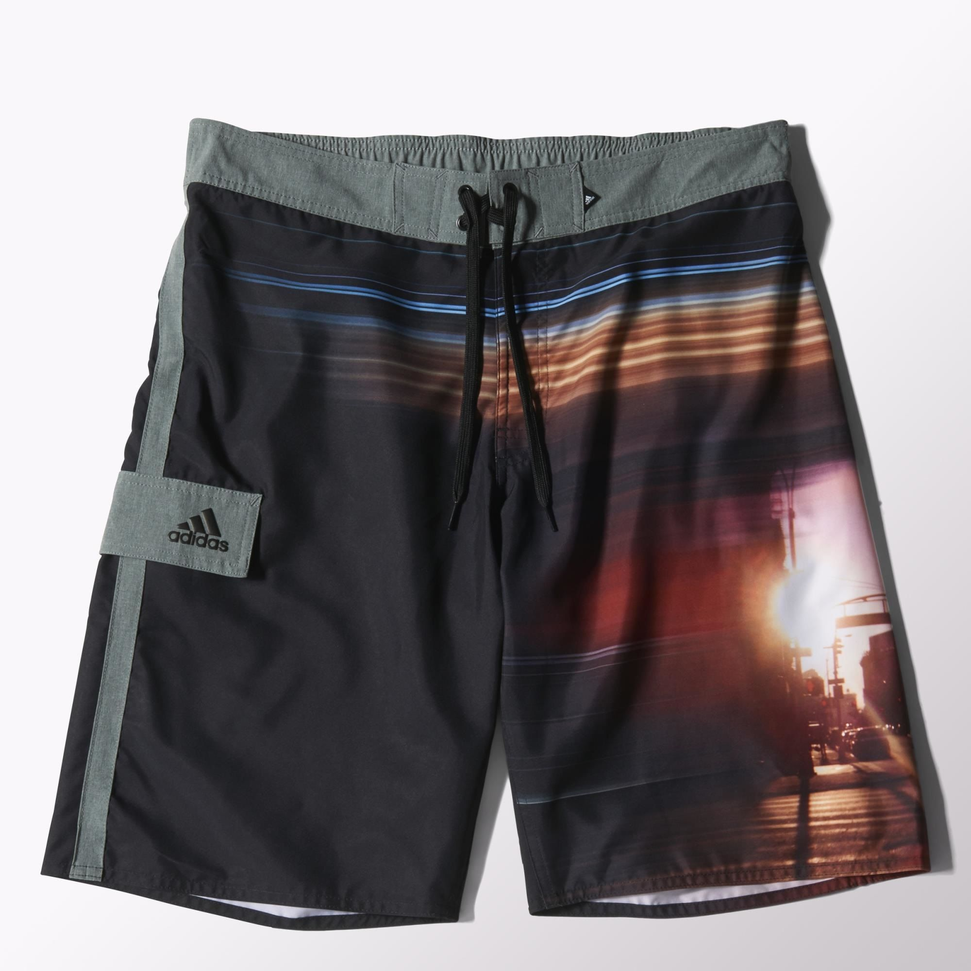 Herren Badeshort Graphic Water Shorts
