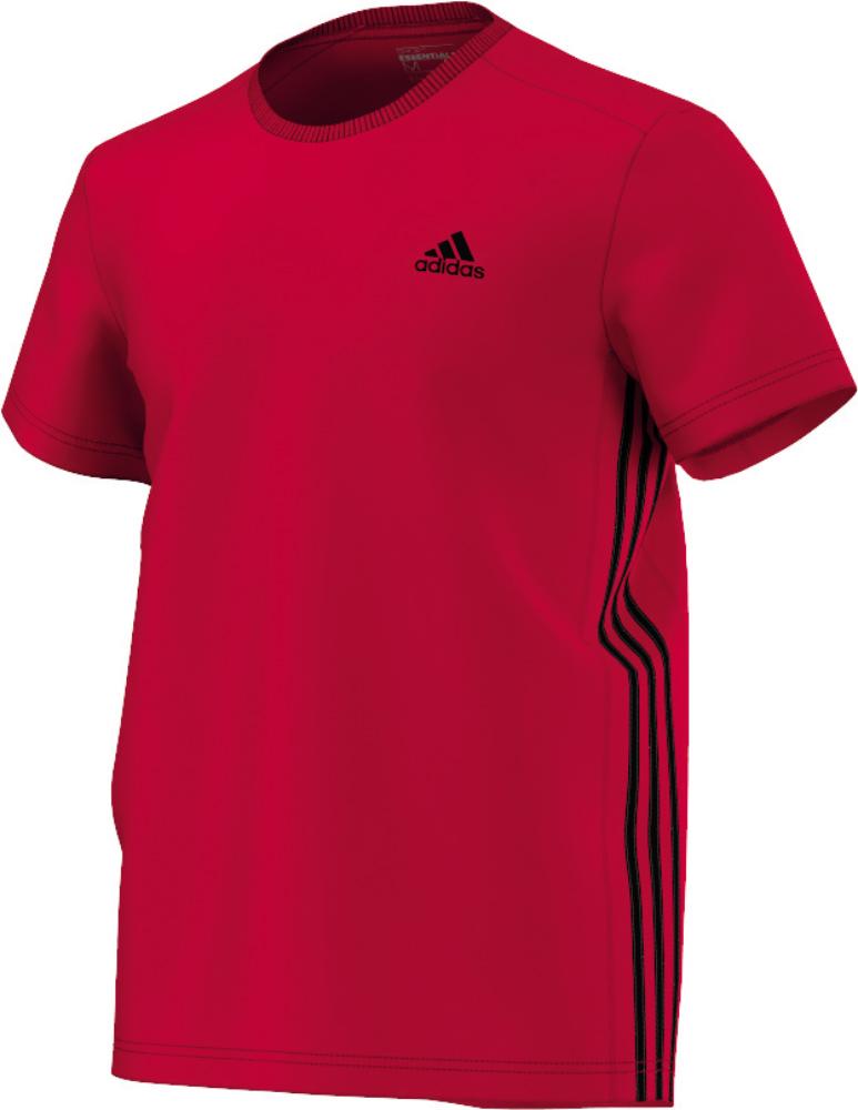 Herren T-Shirt Sport Essentials Mid, SCARLE, XS
