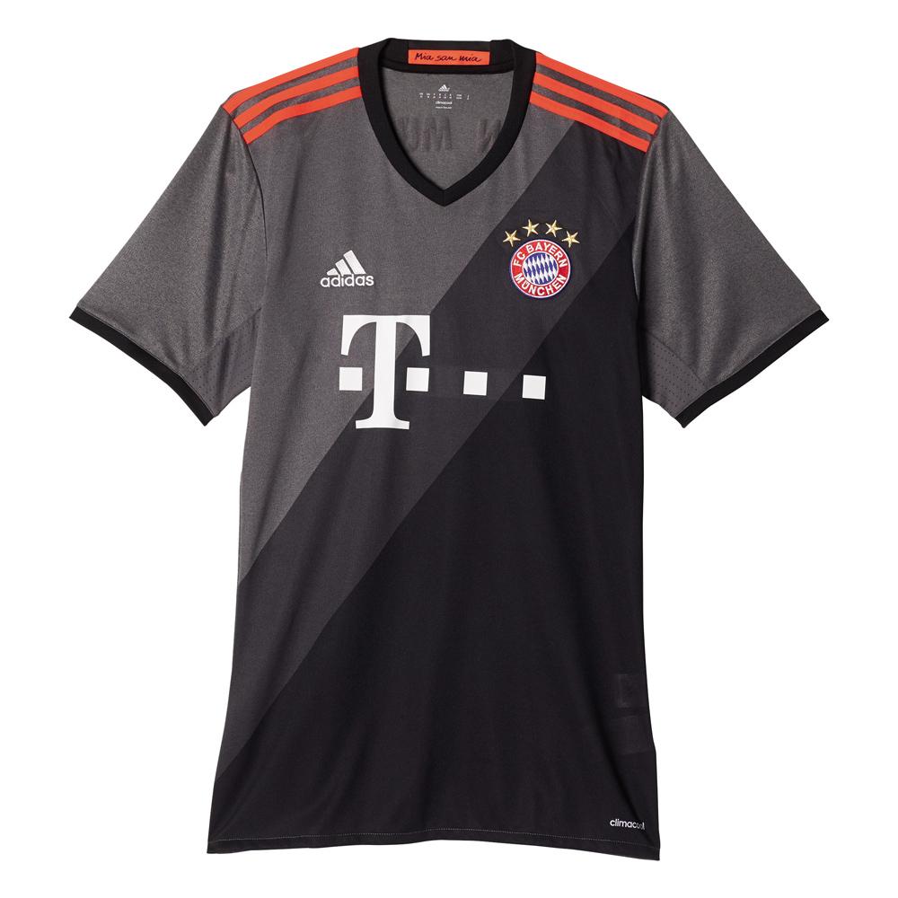 Herren Auswärtstrikot FC Bayern, GRANIT/DGSOGR/BLACK, L