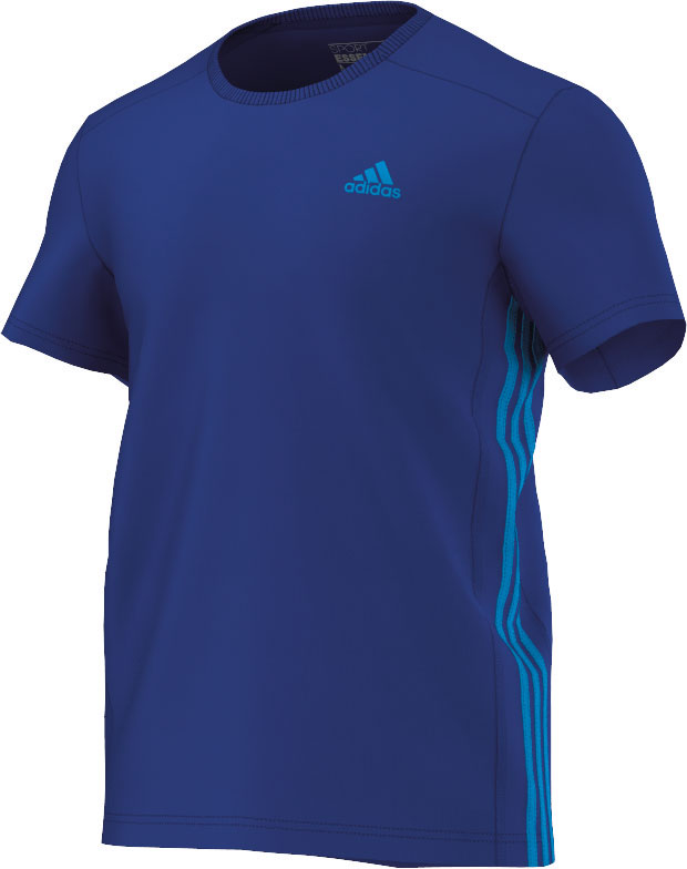 Herren Tshirt Essentials 3S Mid Tee, CROYAL/SOLBLU, S