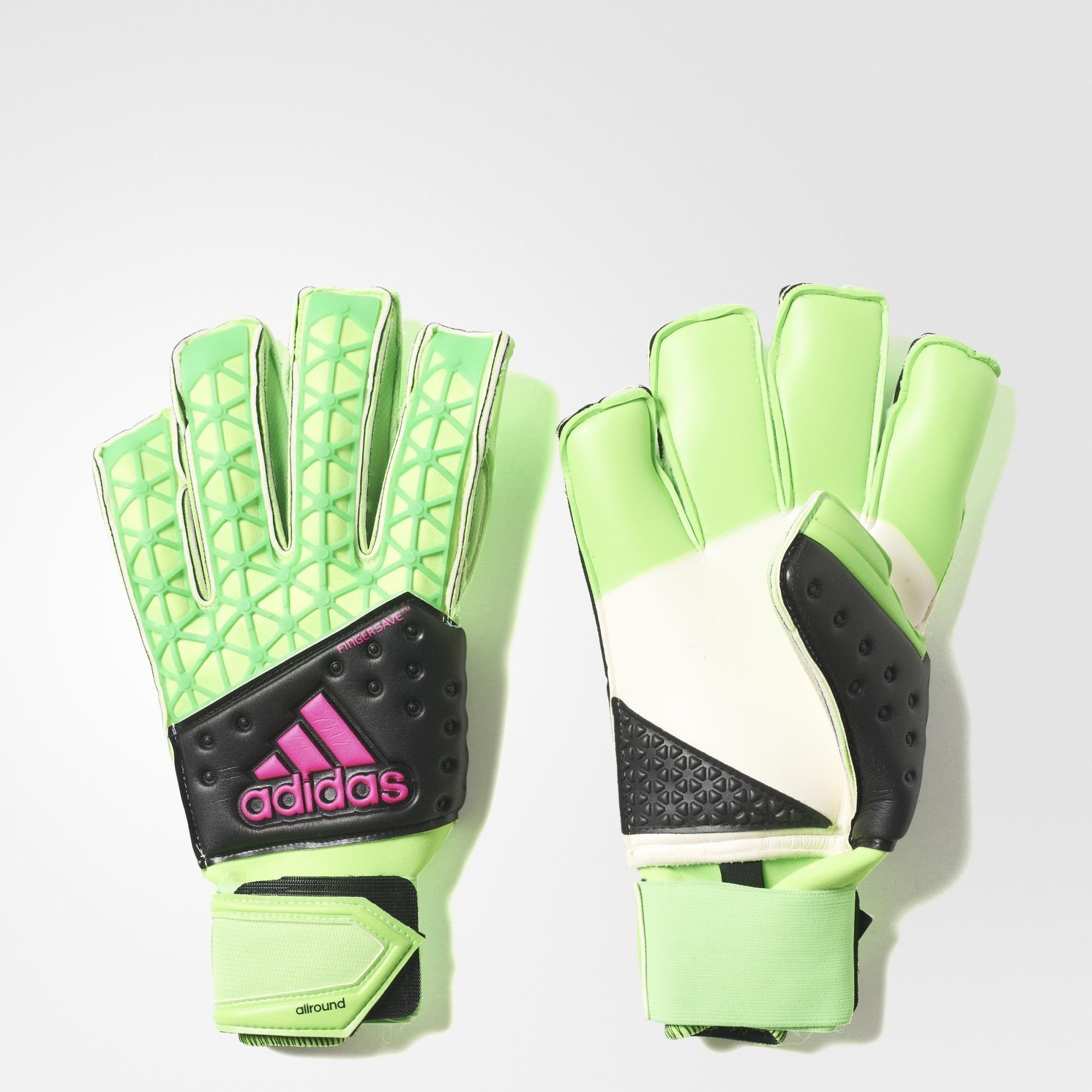 Herren Torwart Handschuhe ACE Zones Fingersave Allround