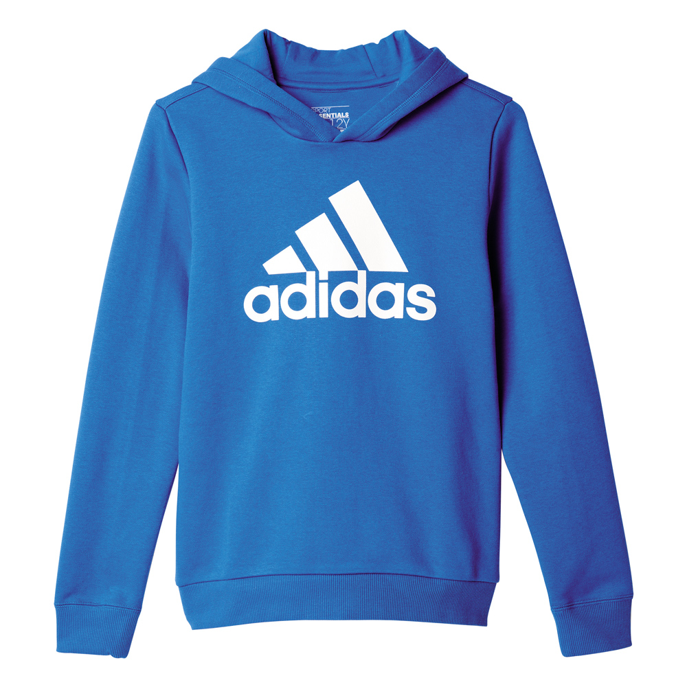 Kinder Hoodie Essentials Logo, BLUE/WHITE, 128