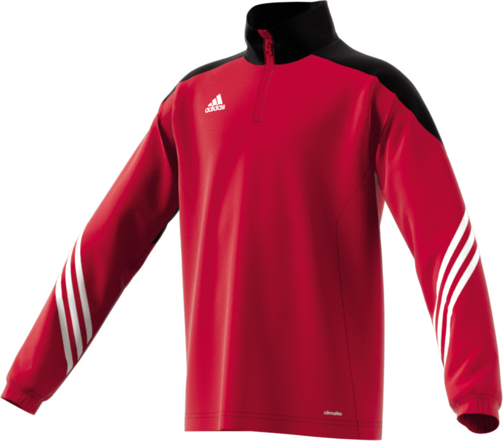 Kinder Sweatshirt SERE14 Training, UNIRED/BLACK/WHT, 140