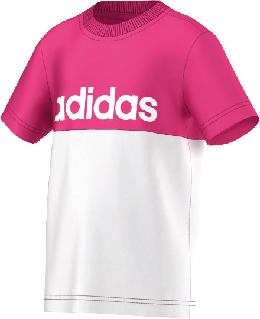 Kinder T- Shirt Essentials Street Tee, WHITE/EQTPIN, 116